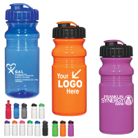 20 Oz. Fitness Bottle With Super Sipper Lid